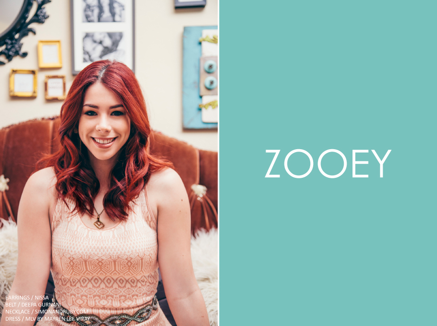 Jillian Rose Reed, Zooey Magazine