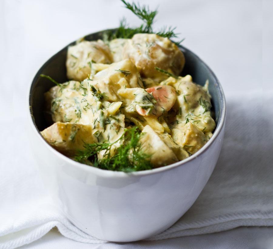 Dill Potato Salad, Zooey Magazine