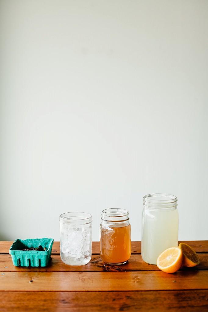Pakistani Mulberry Arnold Palmer, Recipe