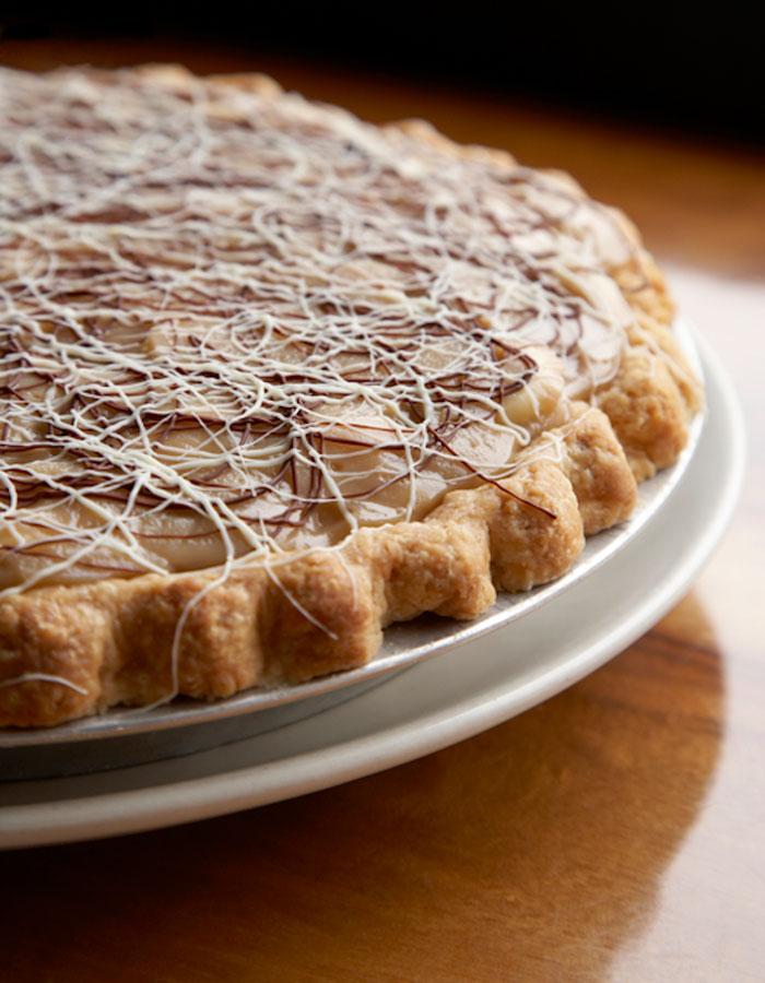Banana Butterscotch Cream Pie