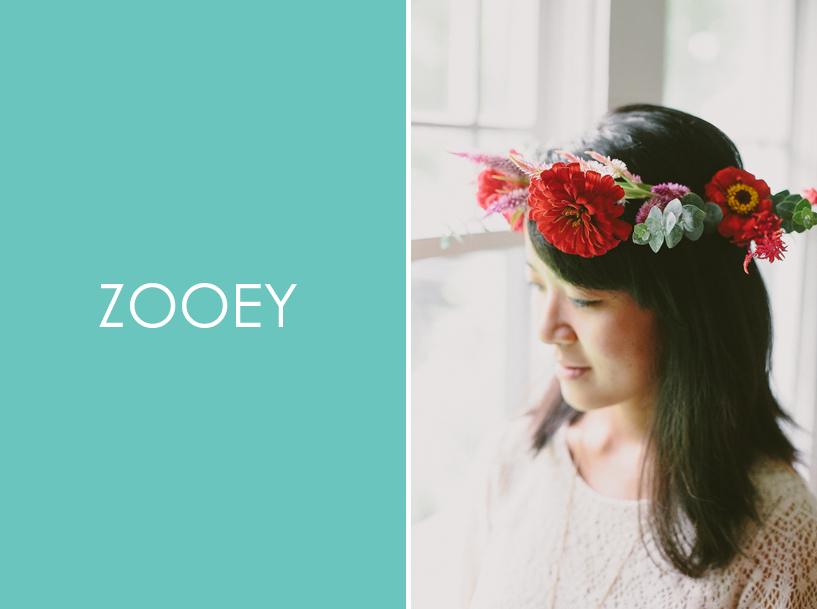 Zooey Magazine, Flower Crown DIY