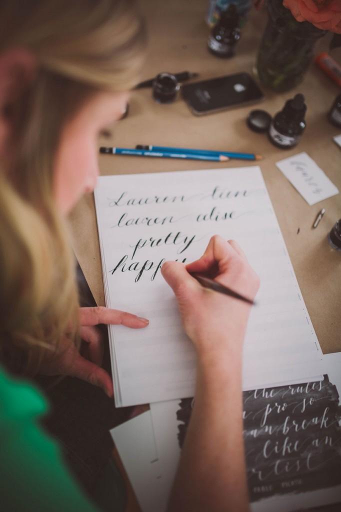 Calligraphy, Zooey Magazine