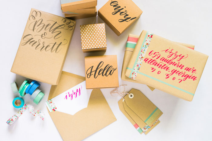 Gift Wrapping DIY, Zooey Magazine