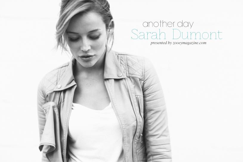 Sarah Dumont, by Brandon Kidd