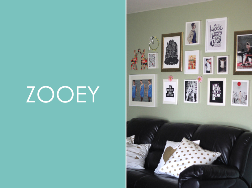 Zooey Magazine, Home Decor - Gallery Wall