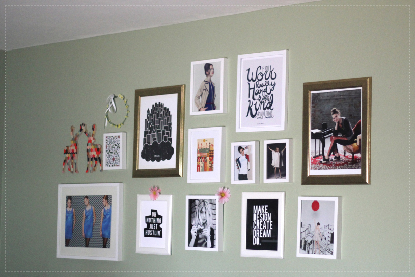 Zooey Magazine, Home Decor - Gallery Wall