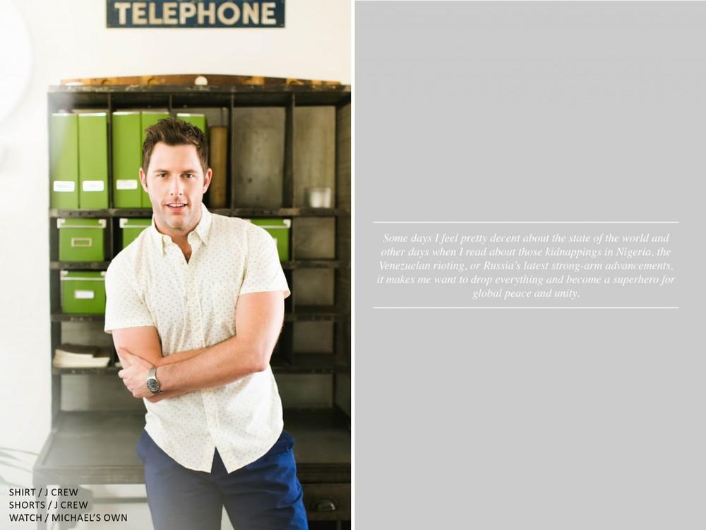Michael Lomenda, Jersey Boys, Zooey Magazine