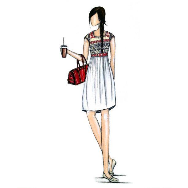 Zooey Magazine, Fashion Illustration