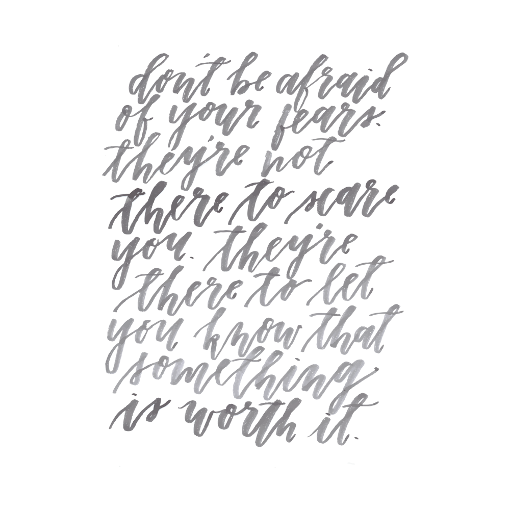 Lettering by Vanessa Perry