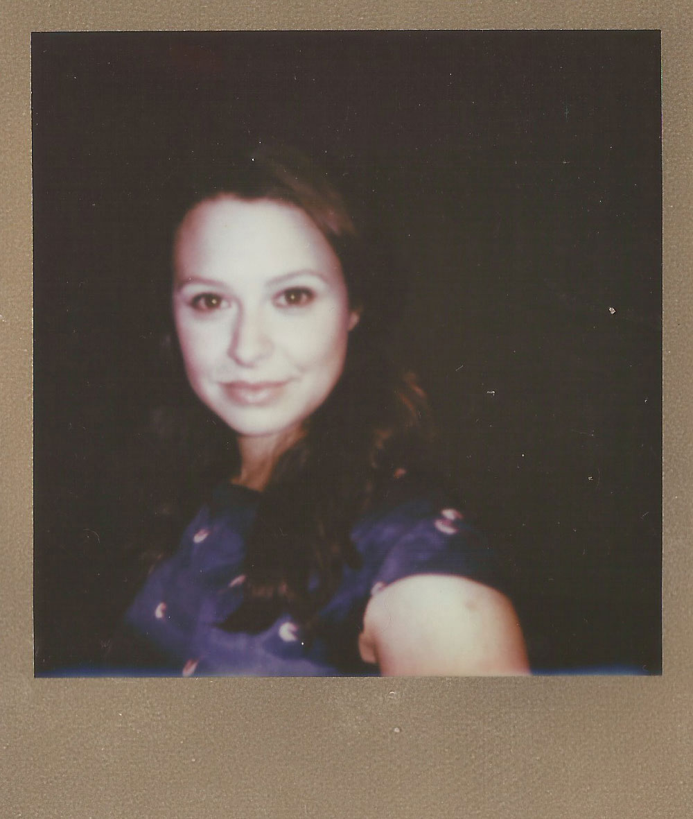 Katie Lowes, Color Film for 600 Gold Frame