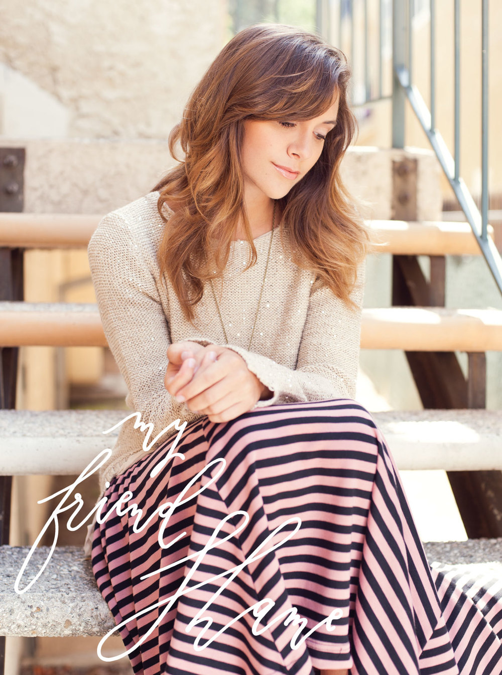 Sweater and Skirt: Shabby Apple.