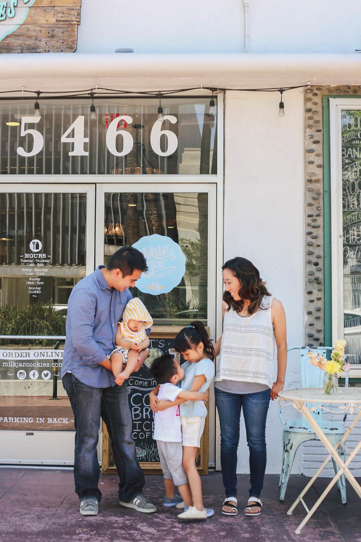 Zooey Magazine explores Los Angeles' Milk Jar Cookies with family