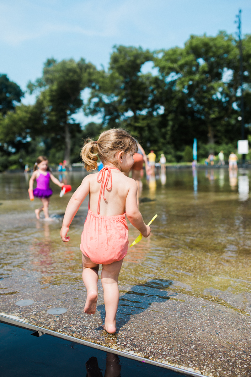 Zooey Magazine explores LeFrack Center with family | June & January | Gap Kids