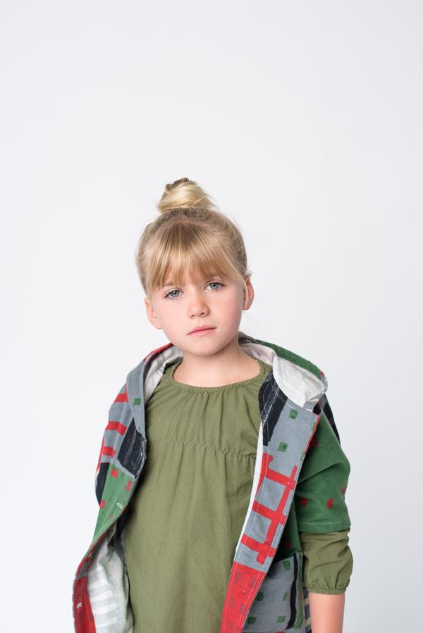 Jacket:Ultra Violet Kids. Blouse:Go Gently Baby.