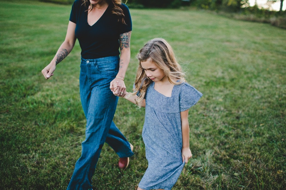 Mom and Me Fashion | Chambray | Zooey Magazine