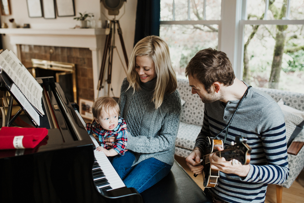Claire Coffee | Family in the Morning | Zooey Magazine