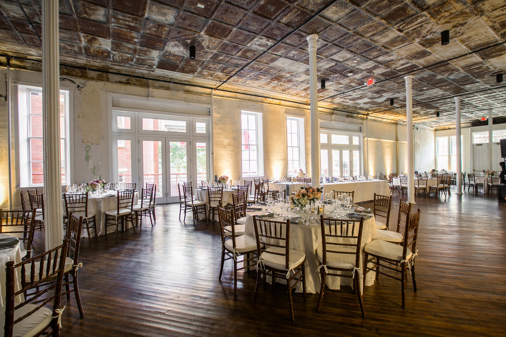 Uplighting in the Grand Salon