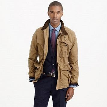 J. CrewBritish Millerain® Waxed Cotton Field Jacket