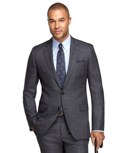 best mens style fashion lifestyle grooming blog Brooks Brothers Windowpane Suit