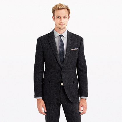 best mens style fashion lifestyle grooming blog jcrew crosby windowpane suit