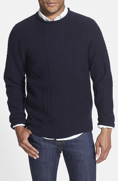 best mens style grooming lifestyle fashion blog wallin bros cable knit sweater