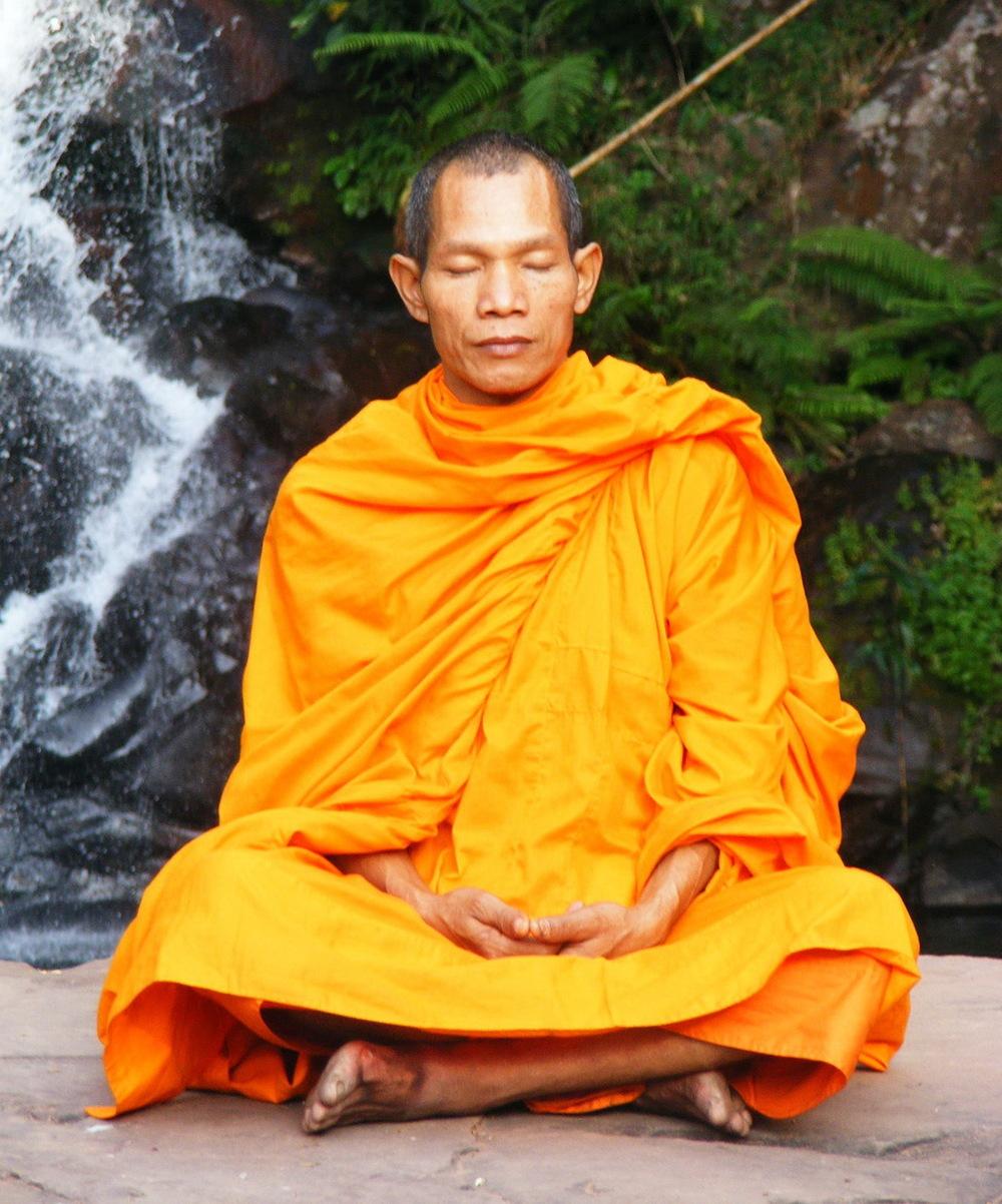 Common perception of meditation.