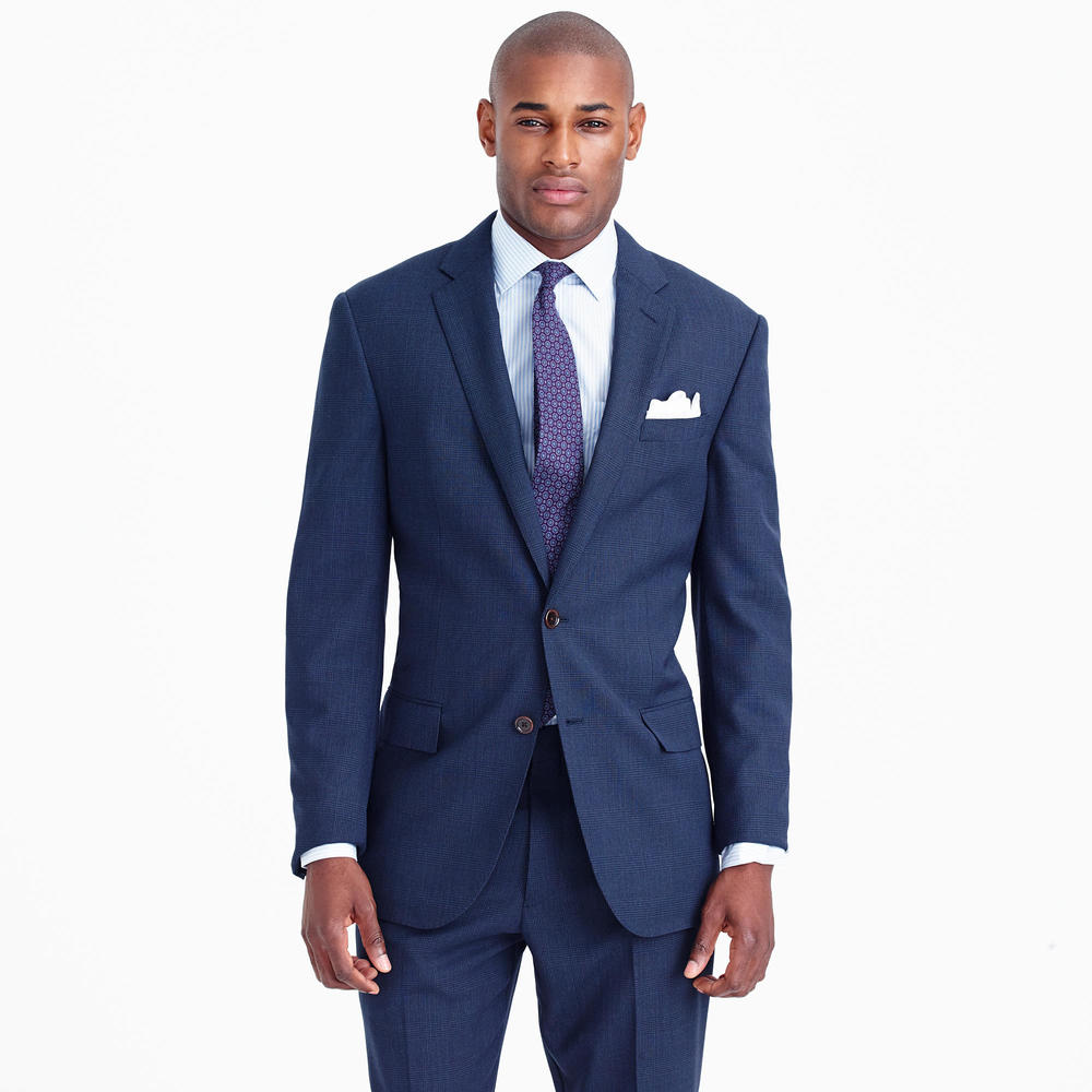 best mens style shaving grooming lifestyle fashion blog jcrew crosby glen plaid suit