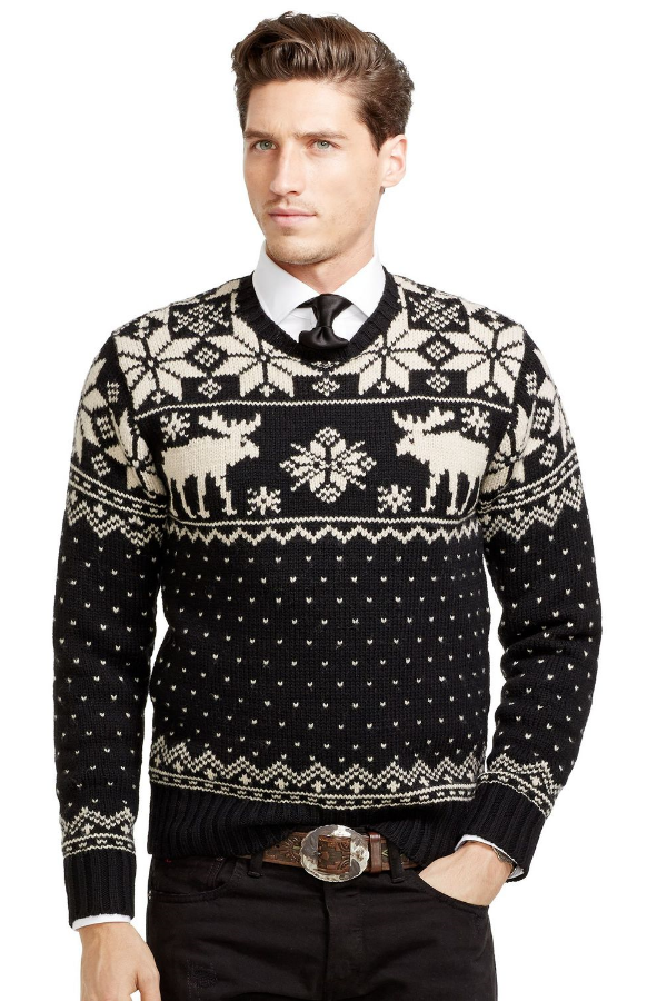 best mens style shaving grooming lifestyle fashion blog moose sweater