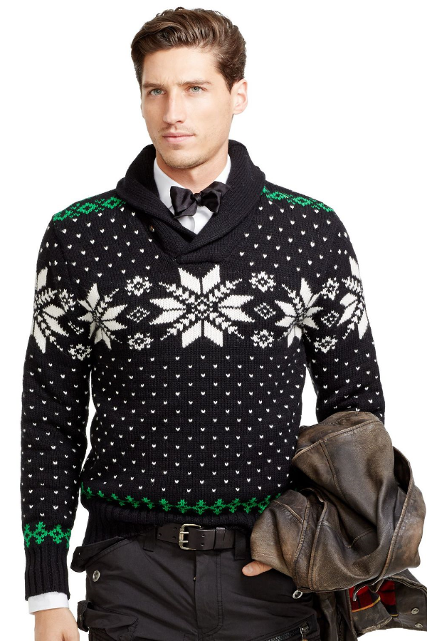 best mens style shaving grooming lifestyle fashion blog winter sweater