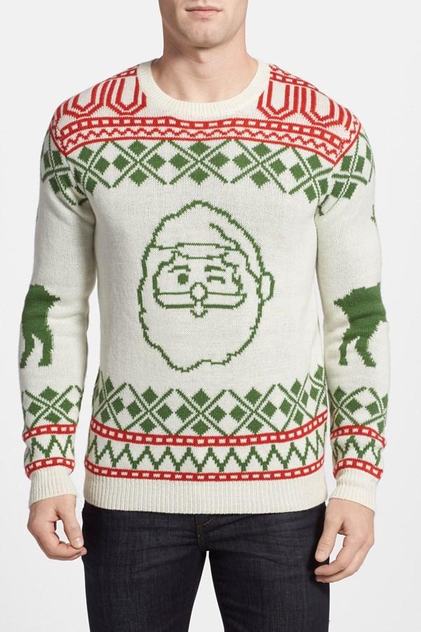 best mens style shaving grooming lifestyle fashion blog santa sweater
