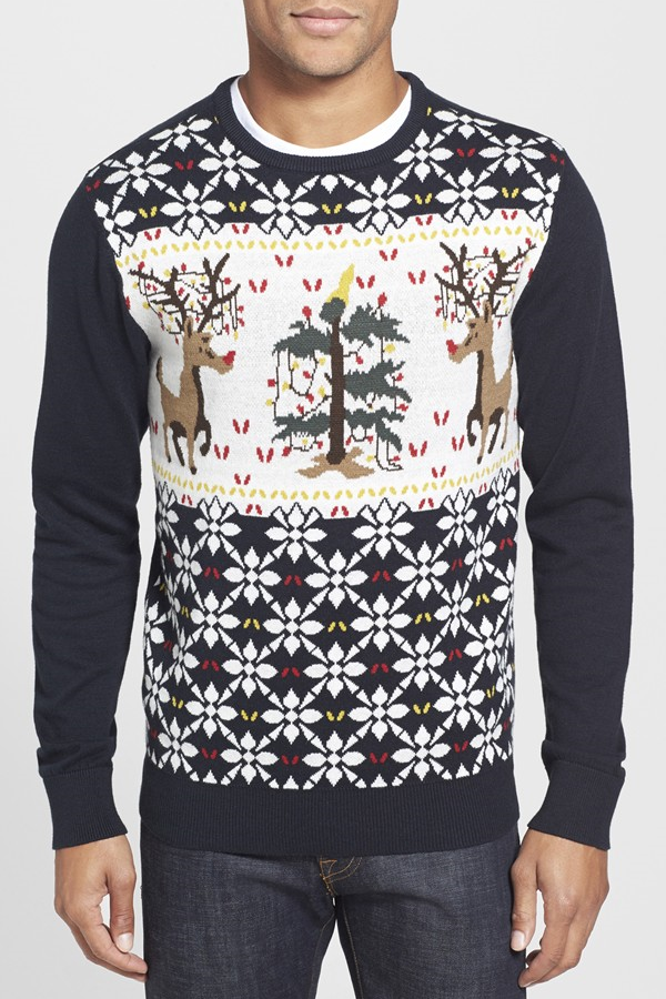 best mens style shaving grooming lifestyle fashion blog reindeer sweater 3