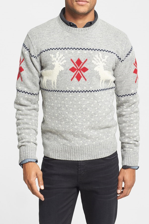 best mens style shaving grooming lifestyle fashion blog reindeer sweater 2