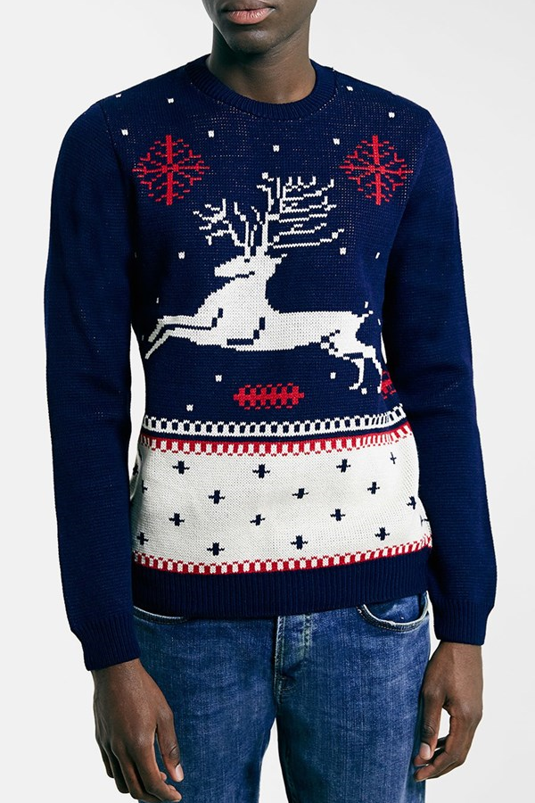 best mens style shaving grooming lifestyle fashion blog reindeer sweater 1