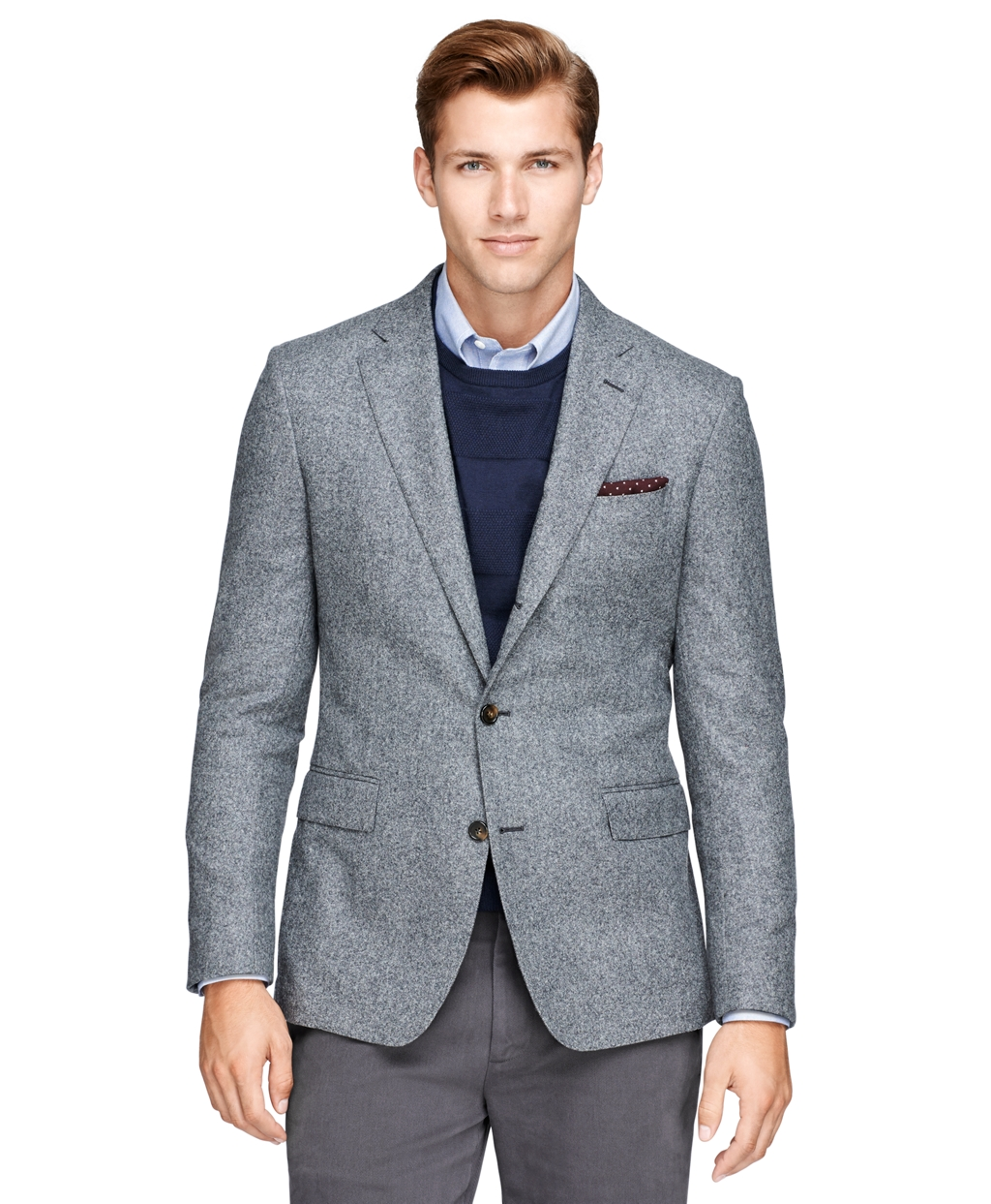 Brooks Brothers Regent Fit Donegal Tweed Sport Coat