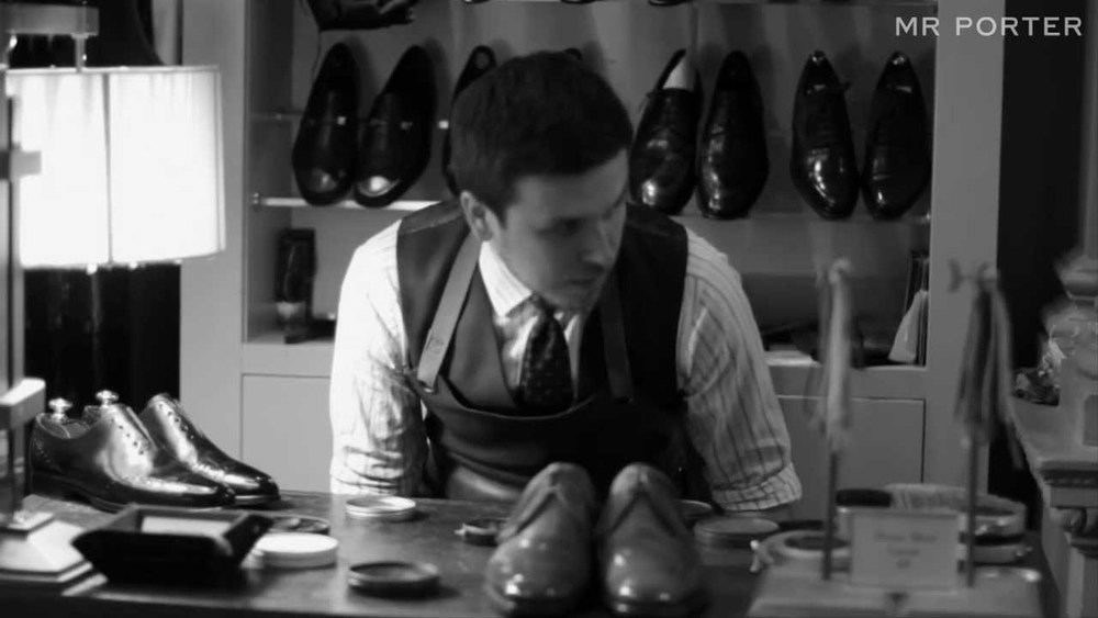 best mens style shaving grooming lifestyle fashion blog mr porter shoeshine