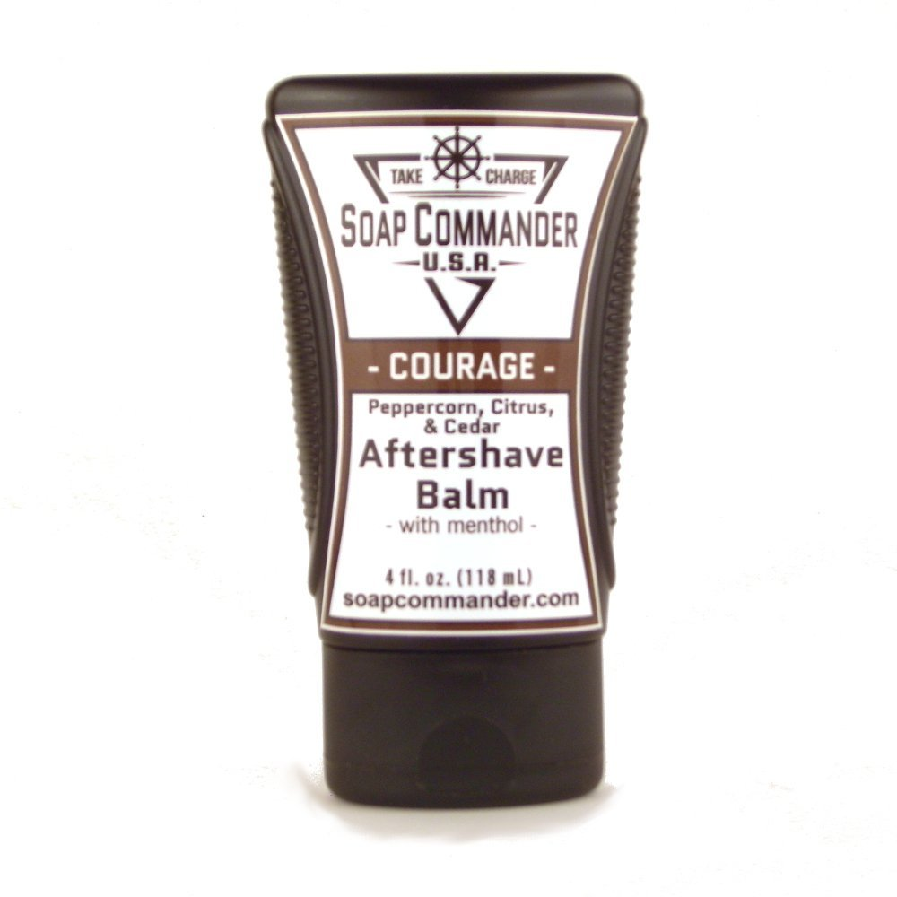 best mens style shaving grooming lifestyle fashion soap commander courage aftershave balm