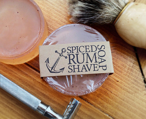 All Soaps on Deck Spiced Rum Shave Soap Review