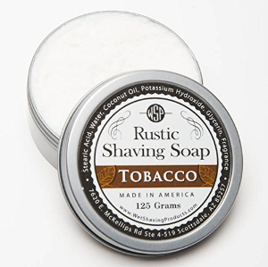 "Wet Shaving Products ""Tobacco"" Rustic Shaving Soap Review"
