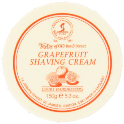 "Taylor of Old Bond Street ""Grapefruit"" Shaving Cream Review"