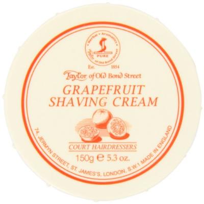 "Taylor of Old Bond Street ""Grapefruit"" Shaving Cream Review"