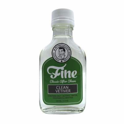 """Shave and Groom: Fine """"Clean Vetiver"""" Aftershave Review"""