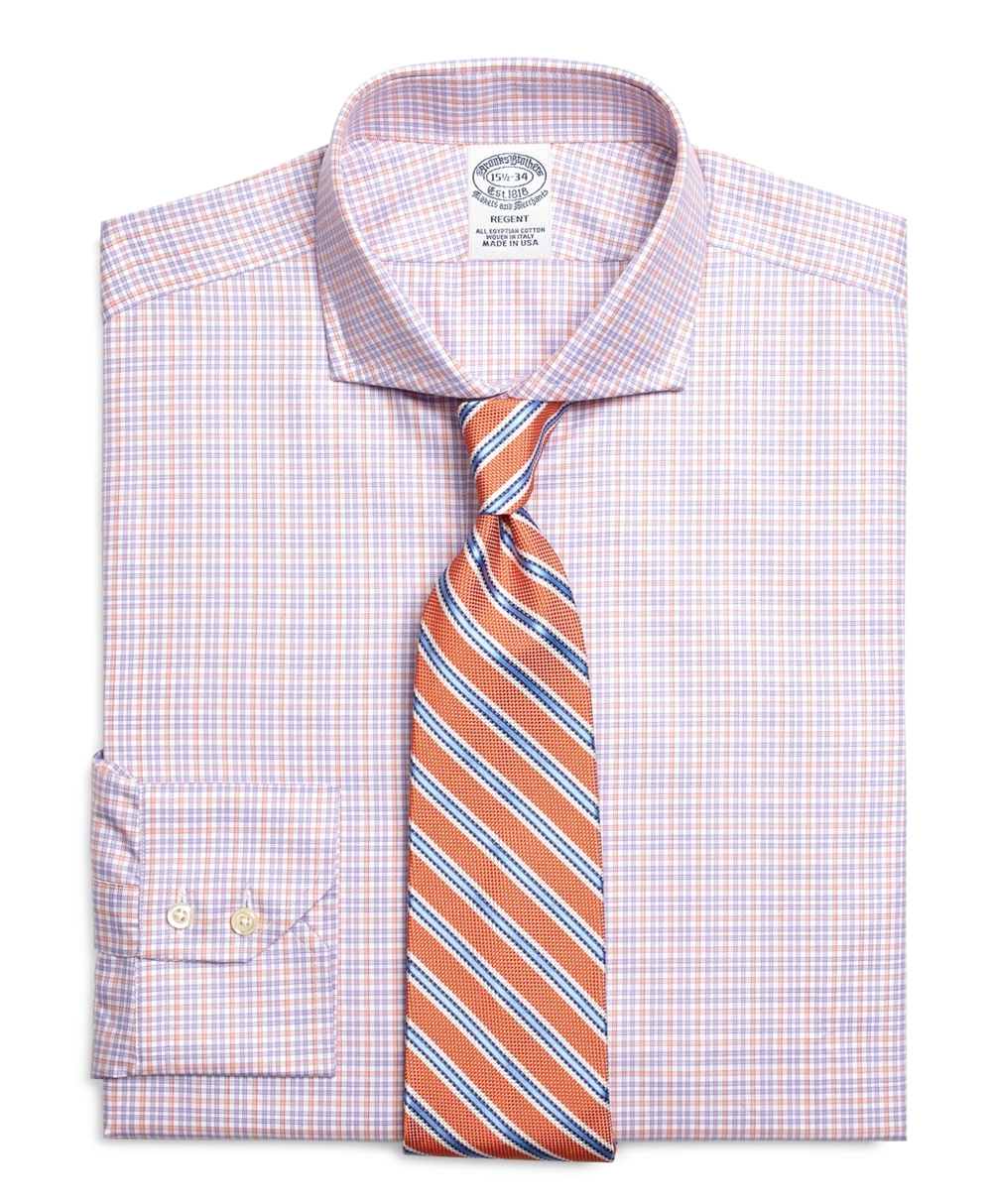 best mens style shaving grooming lifestyle fashion blog brooks brothers twin check dress shirt