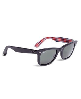best mens style shaving grooming lifestyle fashion blog brooks brothers rayban gingham wayfarers