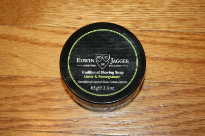 "Edwin Jagger ""Limes & Pomegranate"" Shaving Soap Review"