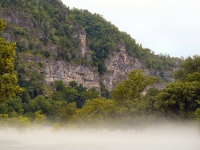 Misty Bluff, Ozark Mountains