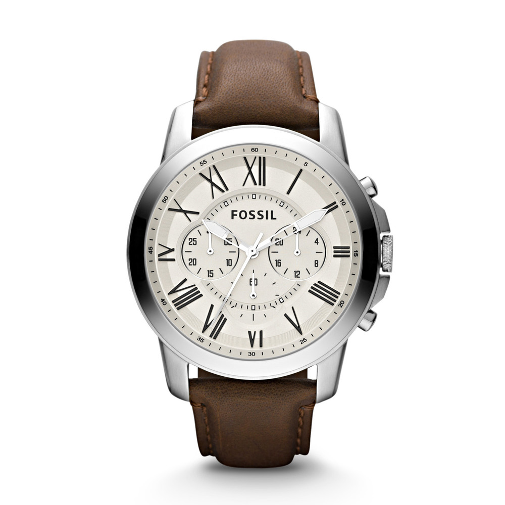 best mens style shaving grooming lifestyle fashion blog fossil grant chronograph