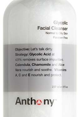 anthony glycol facial cleanser