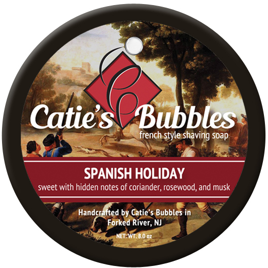 Catie's Bubbles Spanish Holiday Shaving Soap Review