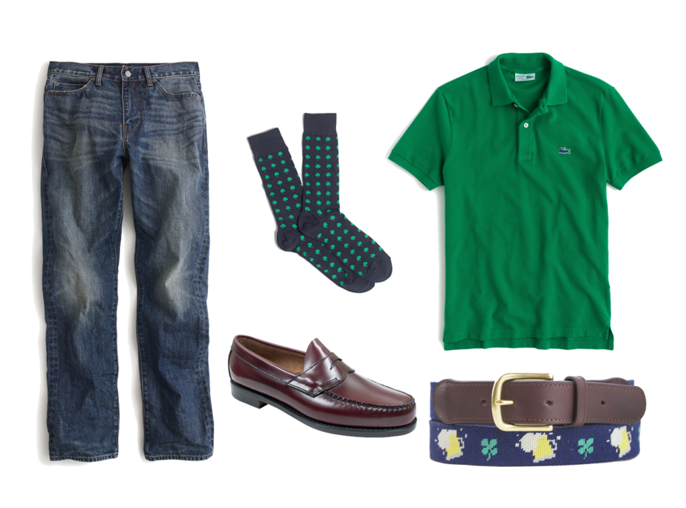 st patricks day casual outfit