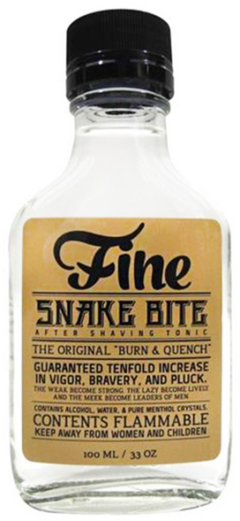 """Fine Accoutrements """"Snake Bite"""" Aftershave Review"""